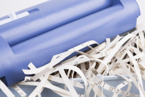 aktenvernichter aufsatz papierkorb